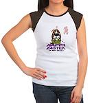 Basset Hound Easter Women's Cap Sleeve T-Shirt