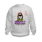 Basset Hound Easter Kids Sweatshirt