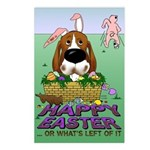 Basset Hound Easter Postcards (Package of 8)