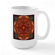 Taos Earth Energy Mandala Mug