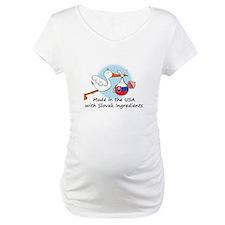Stork Baby Slovakia USA Shirt