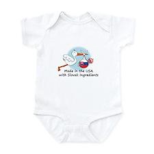 Stork Baby Slovakia USA Infant Bodysuit