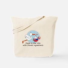 Stork Baby Slovakia USA Tote Bag