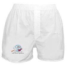 Stork Baby Slovakia USA Boxer Shorts