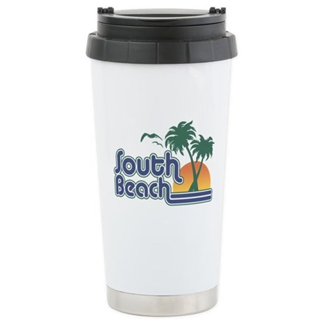 South Beach Stainless Steel Travel Mug