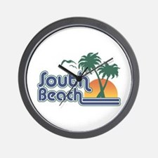 South Beach Wall Clock