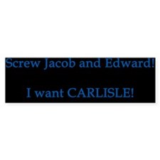 I Want CARLISLE Bumper Sticker