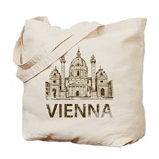 Vintage Vienna Tote Bag