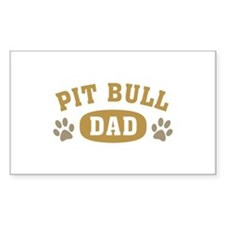 Pit Bull Dad Decal