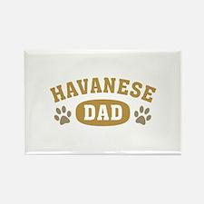 Havanese Dad Rectangle Magnet