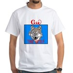The Cherokee Wolf White T-Shirt