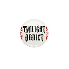 Twilight Addict Mini Button
