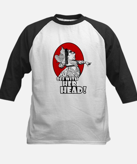 Off With Her Head! Kids Baseball Jersey