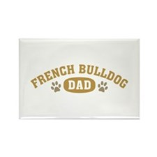 French Bulldog Dad Rectangle Magnet