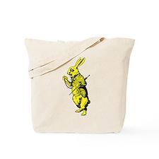 White Rabbit Yellow Tote Bag