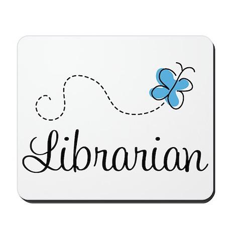 Cute Librarian Mousepad