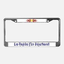 LAFD Flamin License Plate Frame