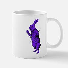 White Rabbit Purple Fill Mug