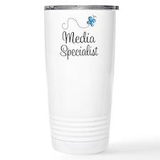 Media Specialist Travel Mug