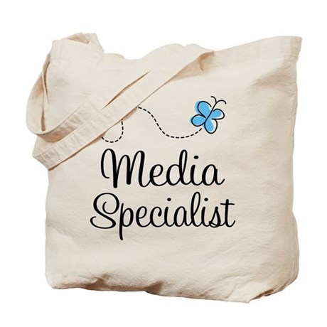 Media Specialist Tote Bag