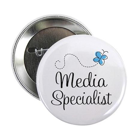 "Media Specialist 2.25"" Button"