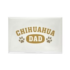 Chihuahua Dad Rectangle Magnet