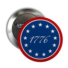 "1776 - 13 Stars 2.25"" Button"