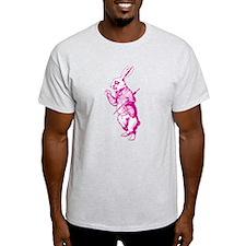 White Rabbit Pink T-Shirt