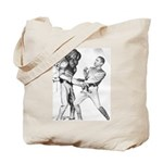 Obama & Aliens Tote Bag