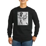 Obama & Aliens Long Sleeve Dark T-Shirt