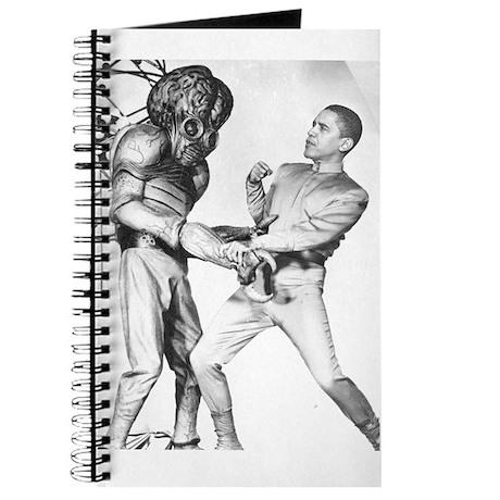 Obama & Aliens Journal