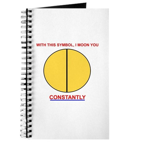 Moon You Constantly Journal