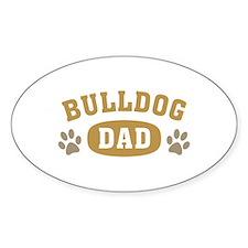 Bulldog Dad Decal