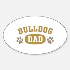 Bulldog Dad Decal