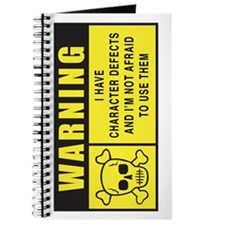 WARNING: Character Defects Journal