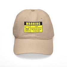 WARNING: Character Defects Baseball Cap