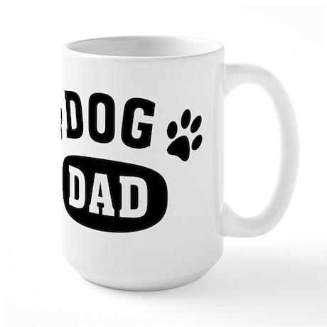 Dog Dad Large Mug