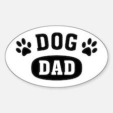 Dog Dad Sticker (Oval)