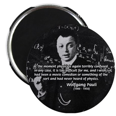 Comedy on Quantum Theory Magnet