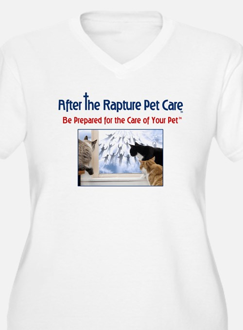 Cats at Window Rapture Gear T-Shirt