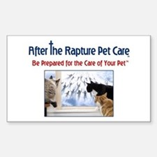 Cats at Window Rapture Gear Decal