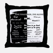 Cute Lost constant Throw Pillow