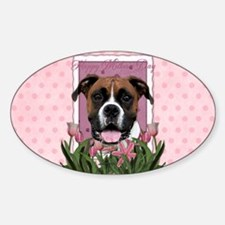 Pink Tulips - Boxer Decal