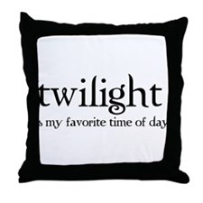 Cute Bella and edward Throw Pillow