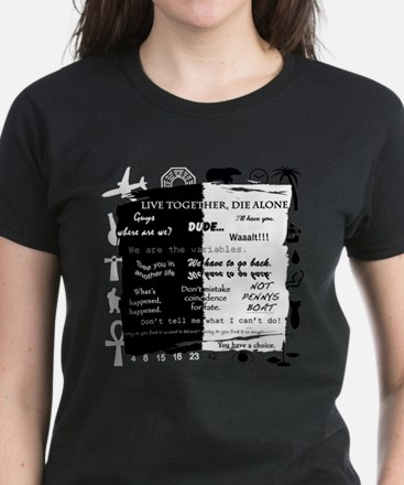 best lines lost text and pictures copy T-Shirt