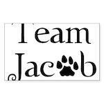 Team Jacob Sticker (Rectangle)