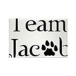 Team Jacob Rectangle Magnet (10 pack)