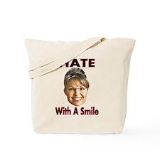 Smiling Hate Tote Bag