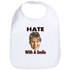Smiling Hate Bib