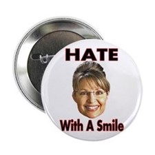 "Smiling Hate 2.25"" Button"